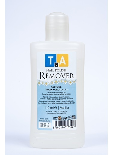 Tca Studio Make Up Naıl Polısh Remover Vanılla 110Ml Renksiz